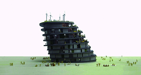 Tsunami Evacuation Tower